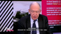 """""""Le parti socialiste n'est pas une langue morte, c'est une langue vivante"""" Louis Mermaz"""