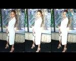 OOPS! Jennifer Lopez suffers a wardrobe malfunction in a plunging neckline dress