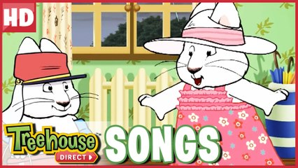 Max & Ruby SING Rain Rain Go Away | Treehouse Direct SONGS! NEW!