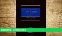 DOWNLOAD EBOOK Preliminary References to the European Court of Justice Morten Broberg Trial Ebook