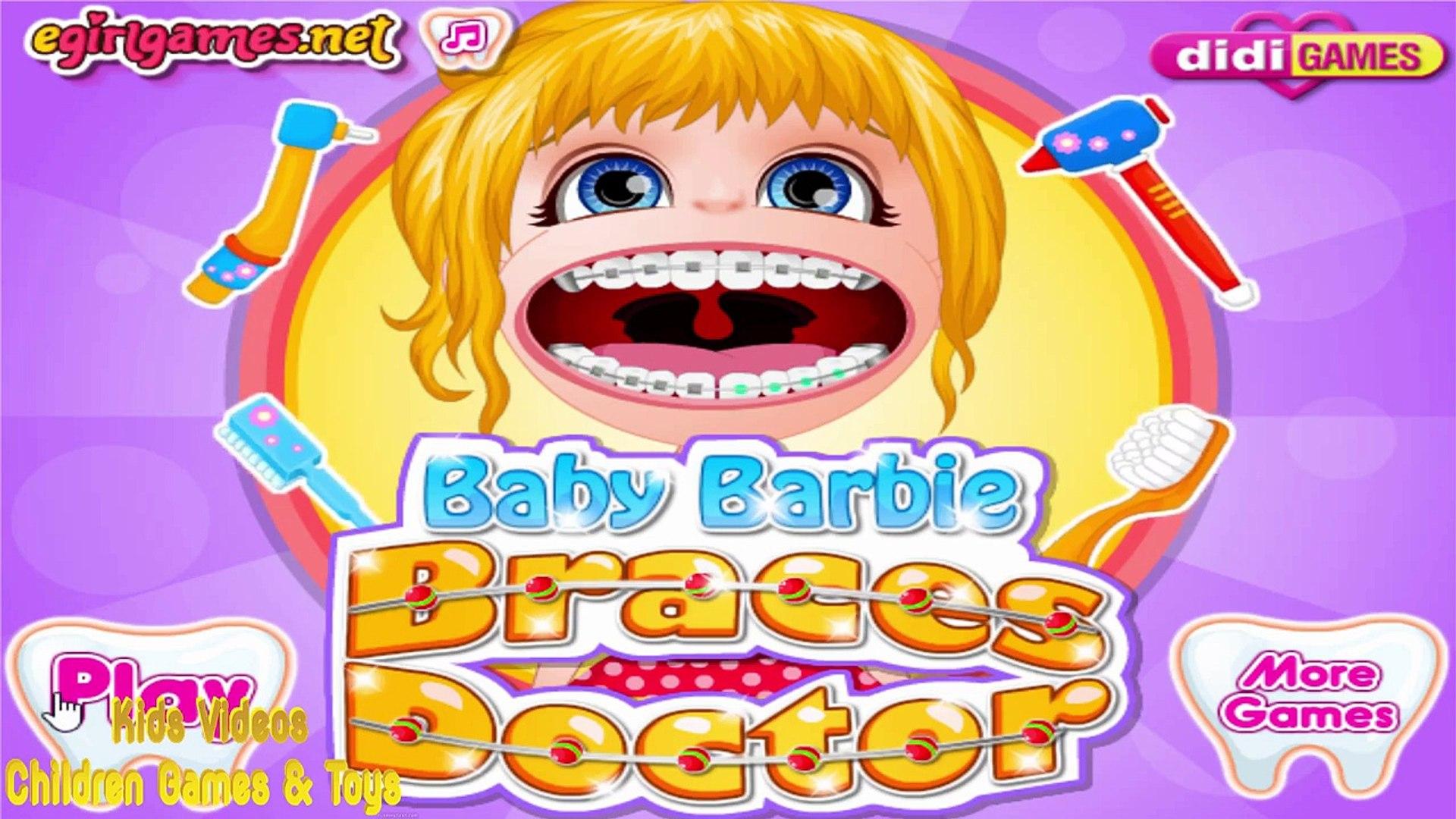 Детские Барби брекеты Доктор Барби Доктор игры полный английский эпизод детские игры новые HD