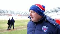 Rugby: l'entraîneur du FC Grenoble Bernard Jackman