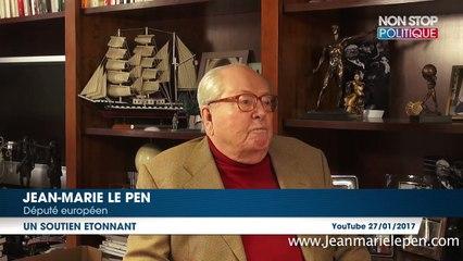Affaire Penelope Fillon : Jean-Marie Le Pen défend François Fillon