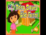 Dora Saves the Farm! Dora the Explorer Movie/Show - Dora Game - Gameplay