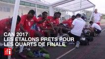 CAN 2017: Les Étalons du Burkina Faso prêts pour les quarts de finale
