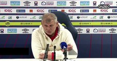 POINT PRESSE (SMC) : AVANT BASTIA - CAEN