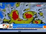 NTG: PAGASA: Typhoon Hagupit, hindi nakikitang magiging isang super typhoon