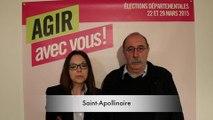 Saint-Apollinaire : le projet de P.-A. Barot et L...