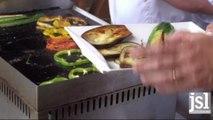 Apprenez a cuisiner une terrine de legumes de saison au basilic et a l'huile...