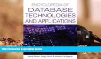 Download [PDF]  Encyclopedia Of Database Technologies And Applications Trial Ebook