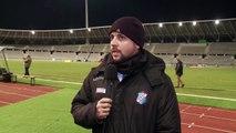 Interview Nicolas Cloarec (entraîneur Concarneau)