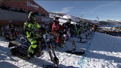 X-Games - Snow BikeCross - Brock Hoyer à jamais le premier