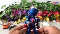 Iron Man War Machine,Super Heroes Toy | Cute Japanese Toy Girl | Kids Toys Videos HD