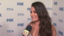 Lea Michele Goes Completely Naked for 'Bed Series' in New York