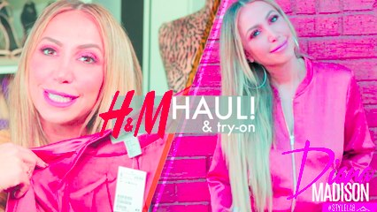 H&M Haul and Try-On! Great Runway Fashion Find -Style Lab