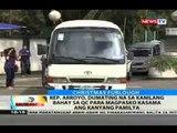 Rep. Arroyo, dumating na sa kanilang bahay sa QC para mag-Pasko kasama ang kanyang pamilya