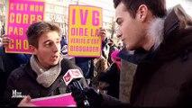 """Que préconisent les manifestants contre l'IVG pour ne pas avoir à avorter ? """"Le Petit Journal"""" a récolté les réponses !"""