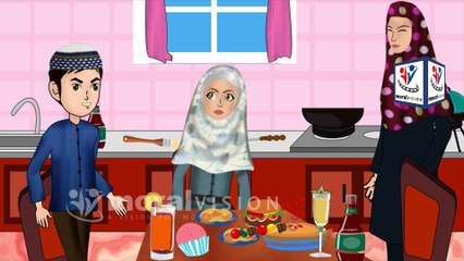 Wash hands & Bismillah