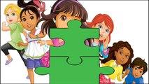 DORA & FRIENDS, MY LITTLE PONY & SHIMMER & SHINE | Super Fun Jigsaw Game #Animation