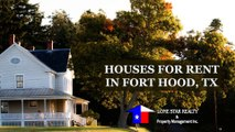 Houses For Rent In Fort Hood, TX