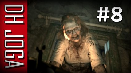 Resident Evil 7 - #8: A Véia virou um Monstro! [Gameplay PT-BR]