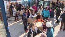 ONGs mandan convoy solidario y camiones de bomberos a Siria