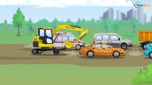 Samochodziki dla dzieci | Traktor dla dzieci | Bajki dla dzieci po polsku Kolekcja 2