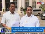 NTG: Panibagong petisyon vs. taas-pasahe sa MRT at LRT, inihain sa SC