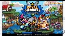 Королевские защитники андроид геймплей HD