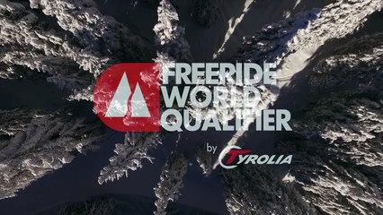 2nd place Jerome Caroli - ski men - Verbier Freeride Week 2* #3 2017