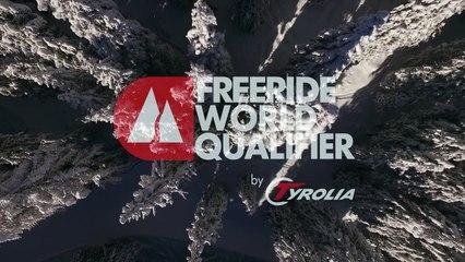 3rd place Fanny Hansson - ski women - Verbier Freeride Week 2* #3 2017