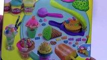 [Padu] Play Doh Ice Cream Swirl Shop Surprise Eggs Toys Spongebob - Play Doh Ice Cream Playdough