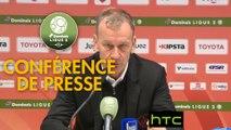 Conférence de presse Valenciennes FC - Stade Brestois 29 (0-1) : Faruk HADZIBEGIC (VAFC) - Jean-Marc FURLAN (BREST) - 2016/2017
