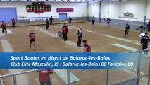 Premier tour, tir progressif,  Club Elite Masculin, J9, Balaruc-les-Bains contre Fontaine, saison 2016-2017