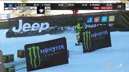 X-Games - Snowmobile Freestyle - Joe Parsons entre dans la légende