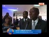 Londres: le 1er ministre Daniel Kablan Duncan prend part à la 39eme réunion du sommet du G8