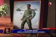 Luis García Rojas: héroe del Cenepa recibió homenaje en Escuela de Chorrillos