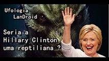 Seria a Hillary Clinton  uma reptiliana  Buraco na lingua de Hillary esta gerando polemica !!!