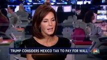 Border Battle  Mexican Pres. Peña Nieto Cancels Meeting With Pres. Donald Trump Nightly News