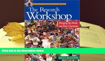 Download The Research Workshop: Bringing the World Into Your Classroom Pre Order