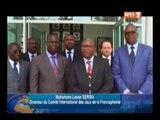 Daniel Kablan Duncan a reçu une délégation de la cour africaine des droits de l'homme et des peuples