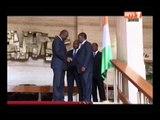 Le Ministre malien chargé des affaires etrangeres reçu par le chef de l'Etat ivoirien
