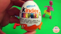 Kinder Surprise Egg Learn A Word! Lesson P Teaching Spelling & Letters Unwrapping Eggs & Toys