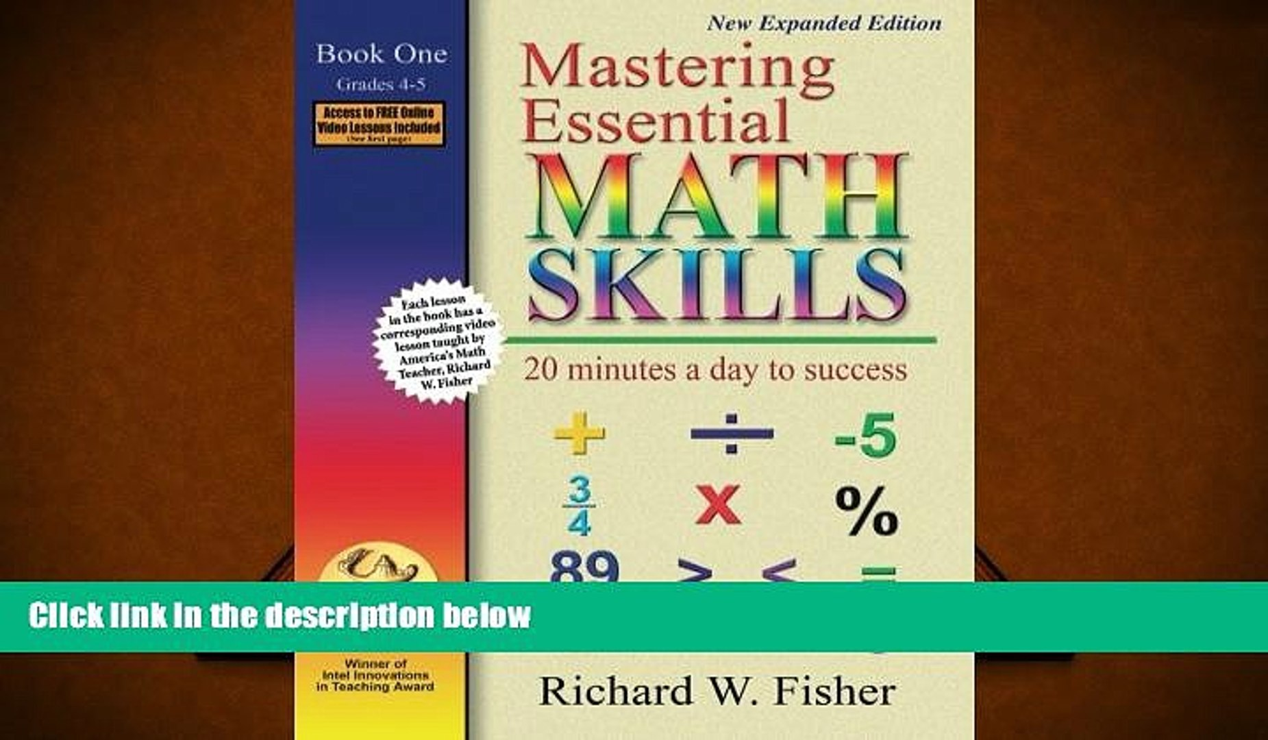Free PDF Mastering Essential Math Skills: 20 Minutes a Day to Success, Book  1: Grades 4-5 For Ipad