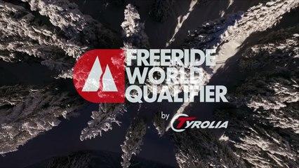 14th place Damian Camathias - ski men - Verbier Freeride Week 2* #3 2017