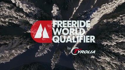 5th place Maxime Buffet - ski men - Verbier Freeride Week 2* #3 2017