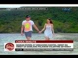 24Oras: Marian Rivera at Dingdong Dantes, sweet na sweet sa kanilang Palawan Valentine Getaway