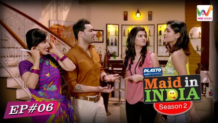 Maid In India S02 E06(Web Series) : Malkin ka Maunvat | Web Talkies