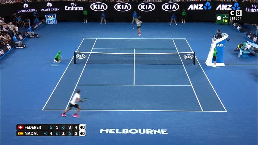 Echange de légende entre Federer et Nadal ! Finale de l'Open d'Australie