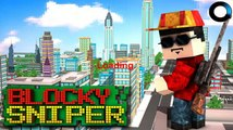 Blocky City Sniper 3D for Android GamePlay